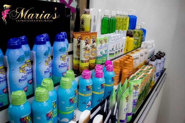 Maria's Cosméticos e Perfumaria no Shopping Punta Blu.