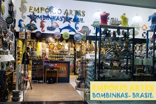 Empório Artes no Shopping Punta Blu.